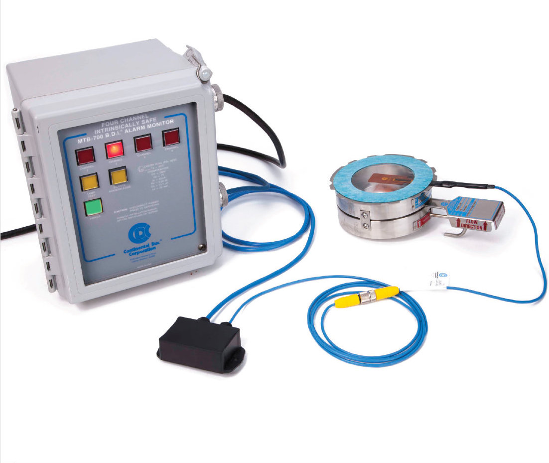 BDI-FLX SENSOR SYSTEM, INCLUDING BURSTING DISC ALARM MONITOR