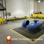 ASME certified flow laboratory-Testing bursting discs under actual flowing conditions